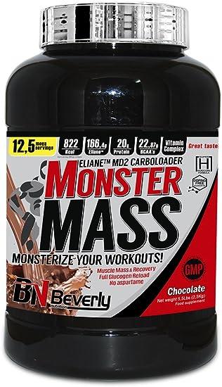 Beverly Nutrition Monster Mass Carbohidratos Sabor ...