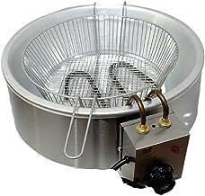 Fritadeira Elétrica em Inox Tacho de Alumínio 1600W 220V 3L