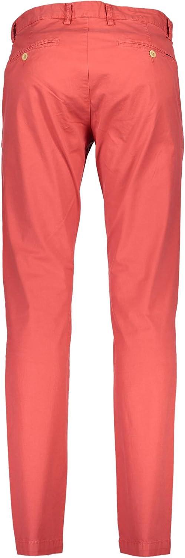 Gant 1701.1913556 Pantalon pour homme Rouge