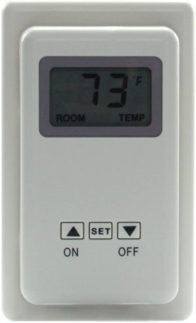 SkyTech San Jose Sale special price Mall Sky-TS-3 White Fireplace-remotes-and-thermostats