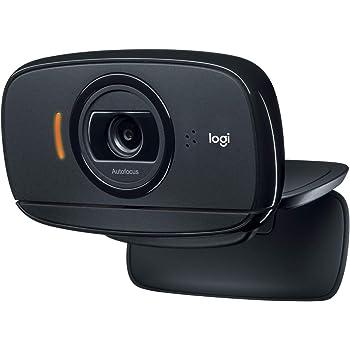 Logitech C525 Webcam Portatile, HD 720p/30fps, Videochiamata HD Widescreen, Pieghevole, Correzione Luce HD, Messa a Fuoco Automatica, Per Skype, FaceTime, Hangouts, PC/Mac/Laptop/Macbook/Tablet