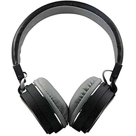 SH-12 Wireless Bluetooth Over the Ear Headphone with Mic (Black)