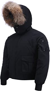 Rocky Relaxed Mens Winter Jacket Bomber Jacket Men Winter Coat for Men