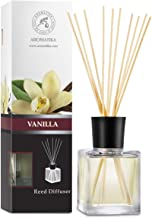 Vanilla Diffuser w/ Natural Essential Vanilla Oil 500ml - Intensive - Fresh & Long Lasting Fragrance - Reed Diffuser Oil -...