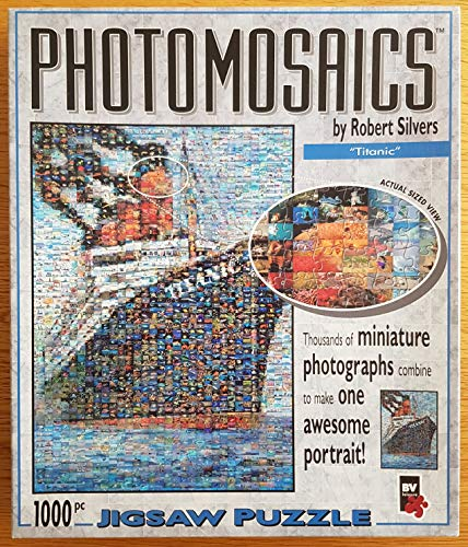 Photomosaics Titanic by Robert Silvers. 1000 pieces. by BV Leisure