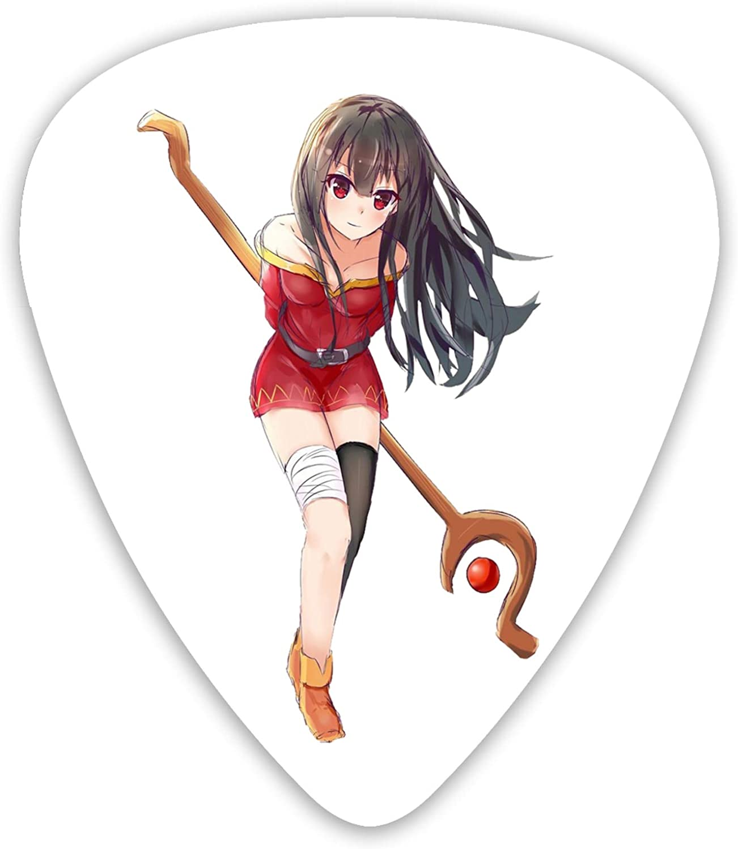 AYTOYY Anime Konosuba Guitar New sales Acoustic Very popular! For Picks 12-Pack
