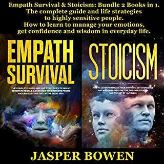 Empath Survival & Stoicism: Bundle 2 Books in 1 audiobook cover art