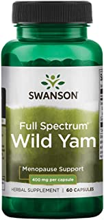 Sponsored Ad - Swanson Full Spectrum Wild Yam 400 Milligrams 60 Capsules