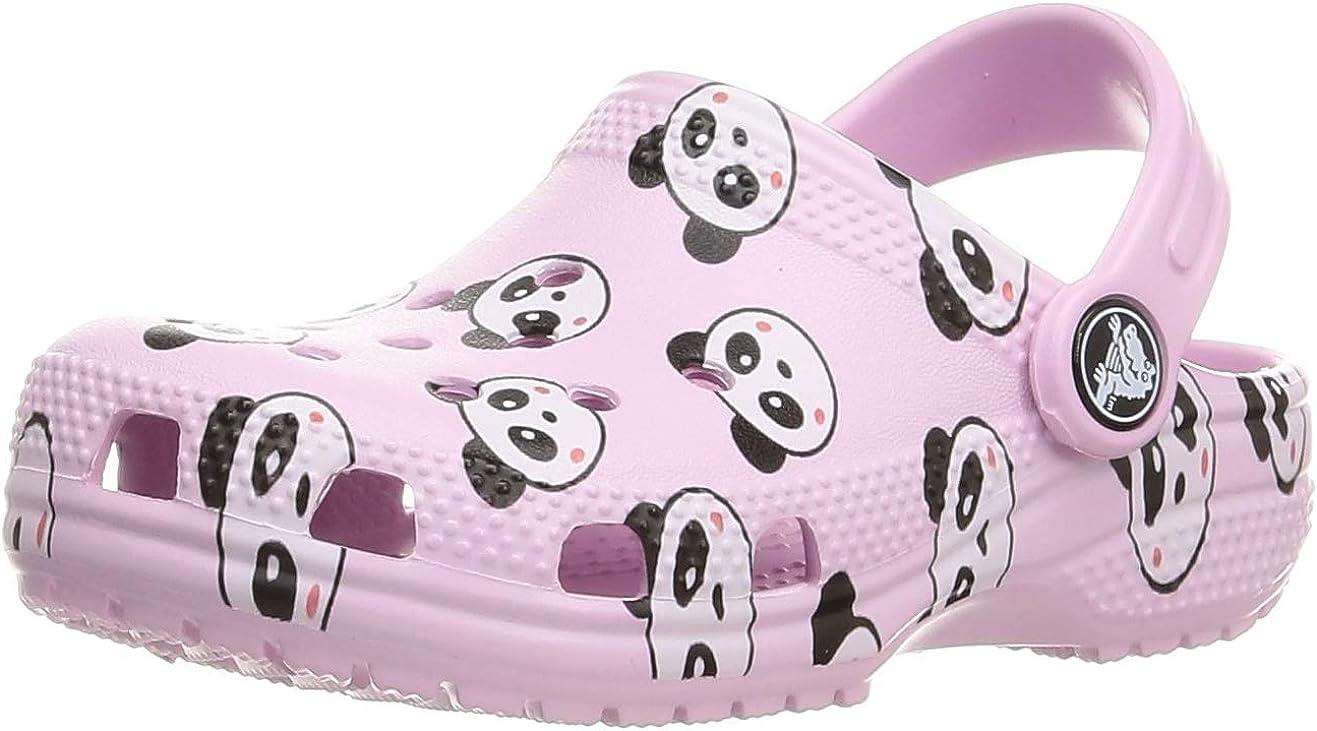 3. Crocs Unisex-Kids' Panda Graphic Clog