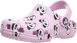 Crocs Kids Classic Panda Print Kids Ballerina Pink, Taille:37/38 EU