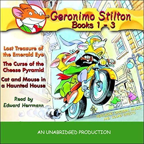 Geronimo Stilton audiobook cover art