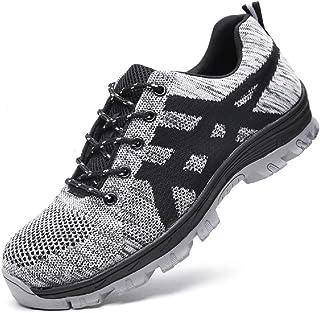 sports shoes 63cc5 b5834 tqgold Chaussure de Securité Homme Femmes Chaussures de Travail avec Embout  de Protection en Acier Chaussure