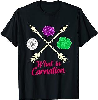Oeillet Fleurs | Fleuriste Drôle Jardinier Plantes Botaniste T-Shirt