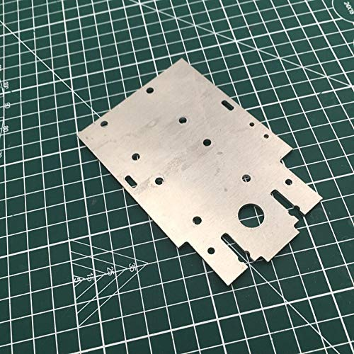 XBaofu 1pc Cube 3D-Drucker-Upgrade Aluminium X-Wagen-Platte for DIY FLSUN Würfel 3mm