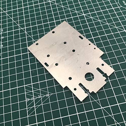1pc 3D Cube actualización de una Impresora de Aluminio X Placa de Carro for DIY FLSUN Cubo 3mm