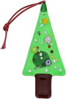 GlassOfVenice Murano Glass Christmas Tree Ornament