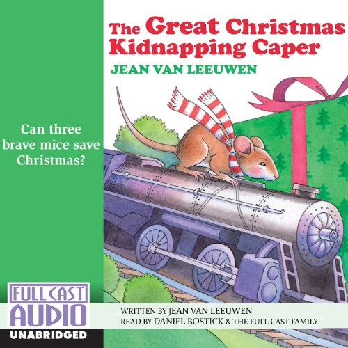 The Great Christmas Kidnapping Caper audiobook cover art