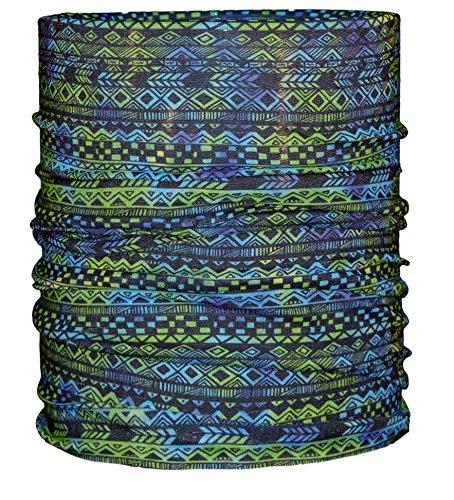 Areco Erwachsene Tuch'18 Schal, Grün, One Size