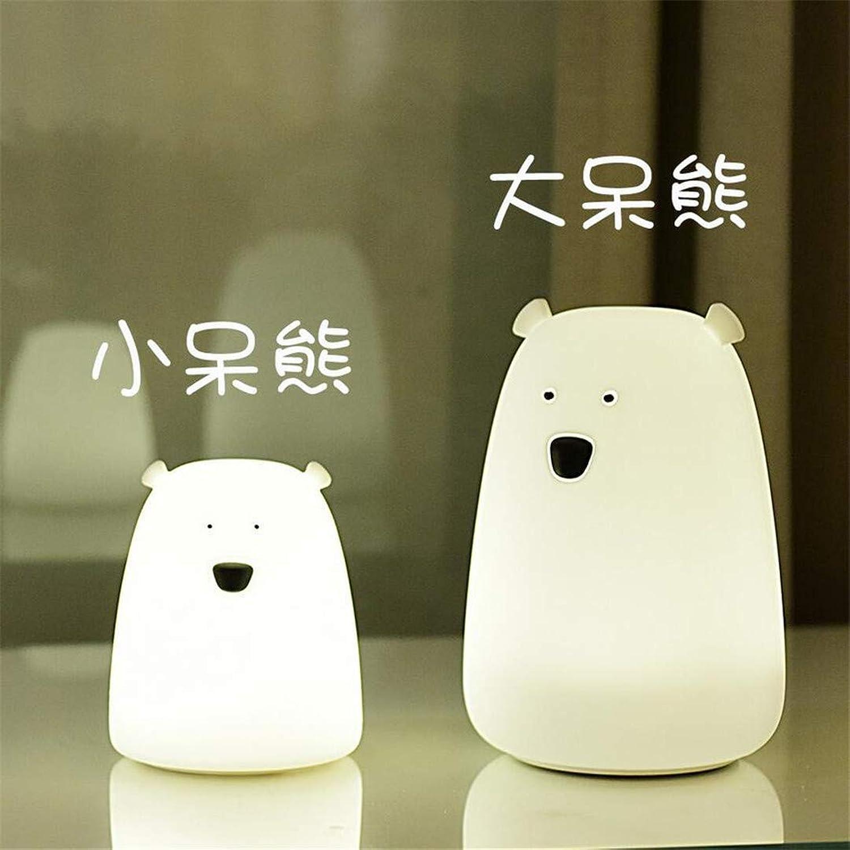 MTX Ltd Nachtlicht Moe Kaninchen Silikon Nachtlicht Patted Sensor Licht Lade Plug-In Traum Kreative Tischlampe Schlafzimmer Baby Fütterung Nachttischlampe