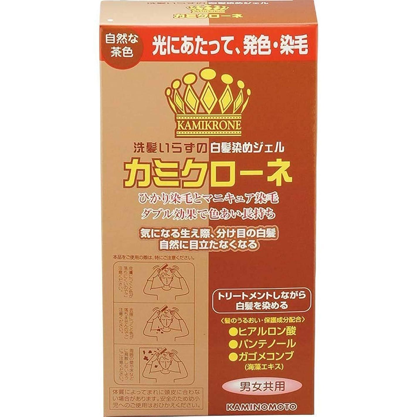 ふくろう微視的トレイル加美乃素 カミクローネ ナチュラルブラウン 80ml×6個