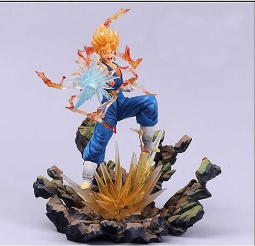 ofreciendo 100% RMJAI Dragon Dragon Dragon Ball Modelo Títere Súper Saiyan Goku Giocattoli Hecho A Mano En Scatola Anime Modelo Decoración Regalo Di Festa Artigianato Escultura Statua Squisita Modelo Anime  entrega rápida