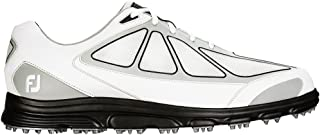 Superlites Athletic Spikeless Golf Shoes 2016 CLOSEOUT White/Grey/Black Medium 11.5