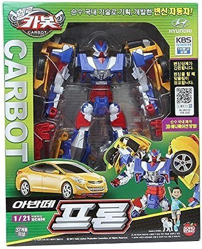 Carbot Avante Pron Tobot Transforming Robot Transformer Cars Action Figure by Sonokong