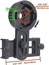 Universal Quick Digiscoping Smartphone Adapter - Universal Smartphone Mount for Binoculars Monocular Spotting Scopes Telescopes Microscope