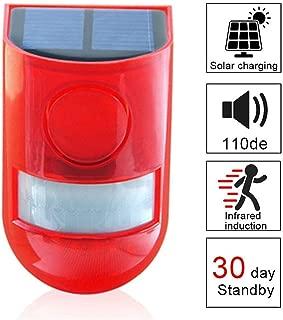 3dsll0 Strobe Signal Warning Light Waterproof 12V 120mA Indicator Light LED Lamp Small Flashing Light Security Alarm Blue