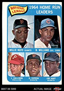 Best 1965 topps mays Reviews