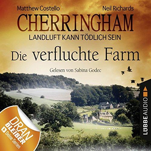 Die verfluchte Farm audiobook cover art