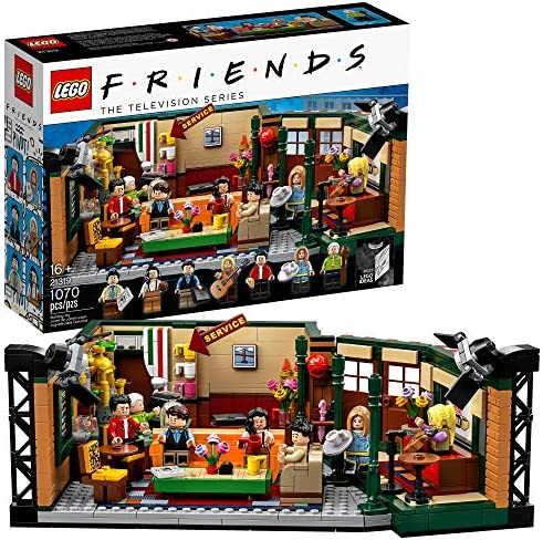 LEGO Ideas 21319 Central Perk Building Kit 1 070 Pieces product image