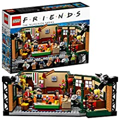 Here's a LEGO brick-built version of the famous Central Perk café packed with authentic details to inspire hilarious memories of the classic Friends TV show and to show off to your own friends In the box: a buildable Central Perk café studio set, plu...
