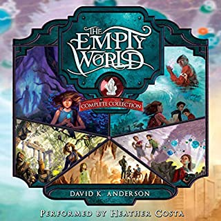 The Empty World Saga Complete Collection: Books 1-5                   By:                                                                                                                                 David K. Anderson                               Narrated by:                                                                                                                                 Heather Costa                      Length: 28 hrs and 29 mins     Not rated yet     Overall 0.0