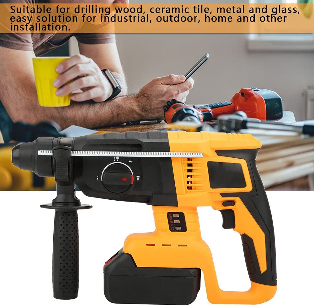 Electric hammer Drill 21V Max 72% OFF Lithium Direct stock discount Batte Cordless