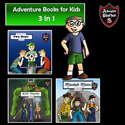 Adventure Books for Kids audiobook cover art