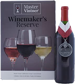 Master Vintner Winemaker's Reserve Pinot Noir Wine Recipe Kit Makes 6 Gallons