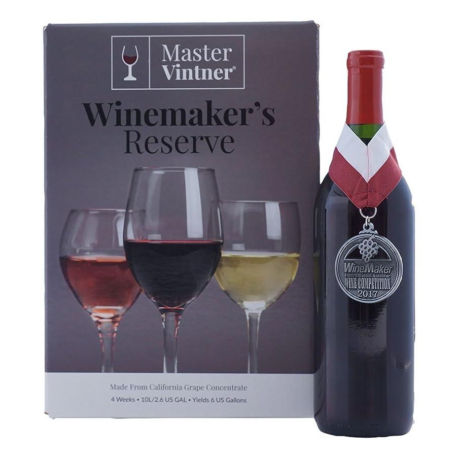 Master Vintner Winemaker's Reserve Wine Recipe Kit Makes 6 Gallons (Pinot Noir)