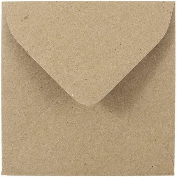 Louisville-Jefferson County Mall JAM PAPER 3 Max 90% OFF 1 8 x Invitation B Square Envelopes Recycled -