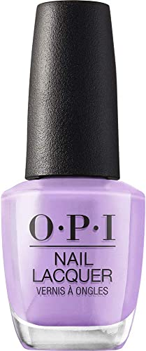 OPI Nail Lacquer, Purple Nail Polish, Lavender Nail Polish, 0.5 fl oz