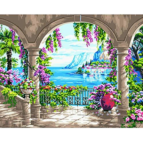 CCEEBDTO Puzzle 1000 Teile Jigsaw Puzzle Für Erwachsene Und Kinder Seascape Ausmalbilder Für Besonderes Geschenk Freizeit Spiel Spielzeug Home Decoration 75X50Cm