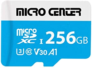 Micro Center Premium 256GB microSDXC Card UHS-I Flash...