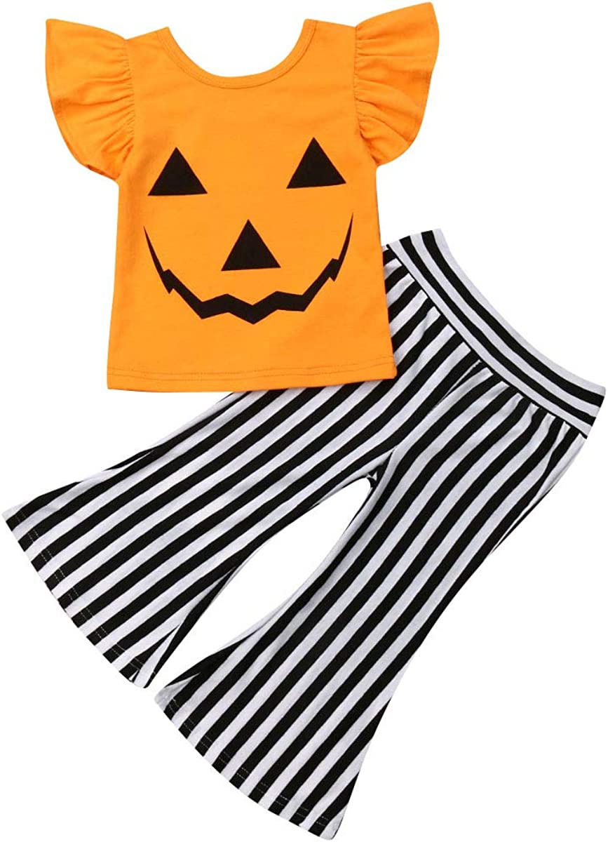 Toddler Kids Baby Girl Halloween Outfits Limited price Sleeve Quantity limited Top Long B Ghost