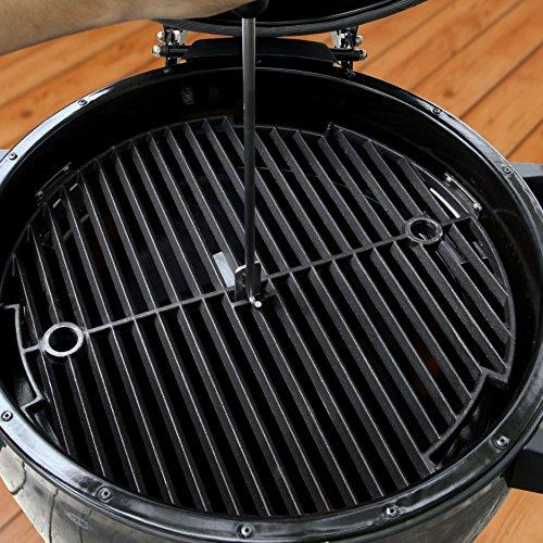 Broil King 911470 Keg 5000 Kamado Grill, 18.5-IN Diameter, Metallic Charcoal