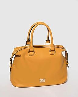 Yellow Riley Medium Tote Bag