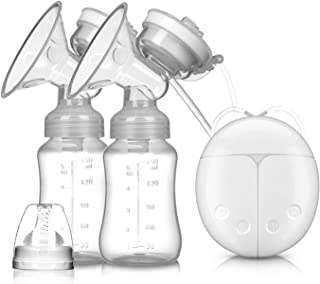 Breast Pump Breast Pump Bilateral Milk Pump Baby Bottle Postnatal Supplies Electric Milk Extractor Breast Pumps USB Powere...