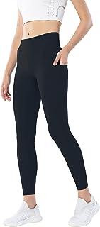 """N/A"" Workout Leggings for Women High Waist Yoga Pants Stretchy Butt Lifting Leggings"
