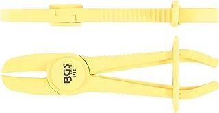 Broadroot 10pcs Fascetta per Tubi clip in acciaio a molla tubo aria tubo carburante linea tubi fascette 6mm
