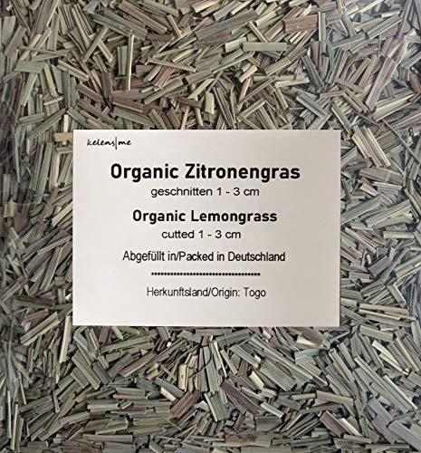 Lemongras - Organic Zitronengras aus Togo | Kräutertee aus biologischem Anbau | 100g Tee Genuss pur