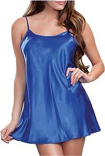 ملابس داخلية نسائية من الدانتيل بيبي دول للنساء مثير للنساء مثير (اللون: أزرق، المقاس: إكس لارج)